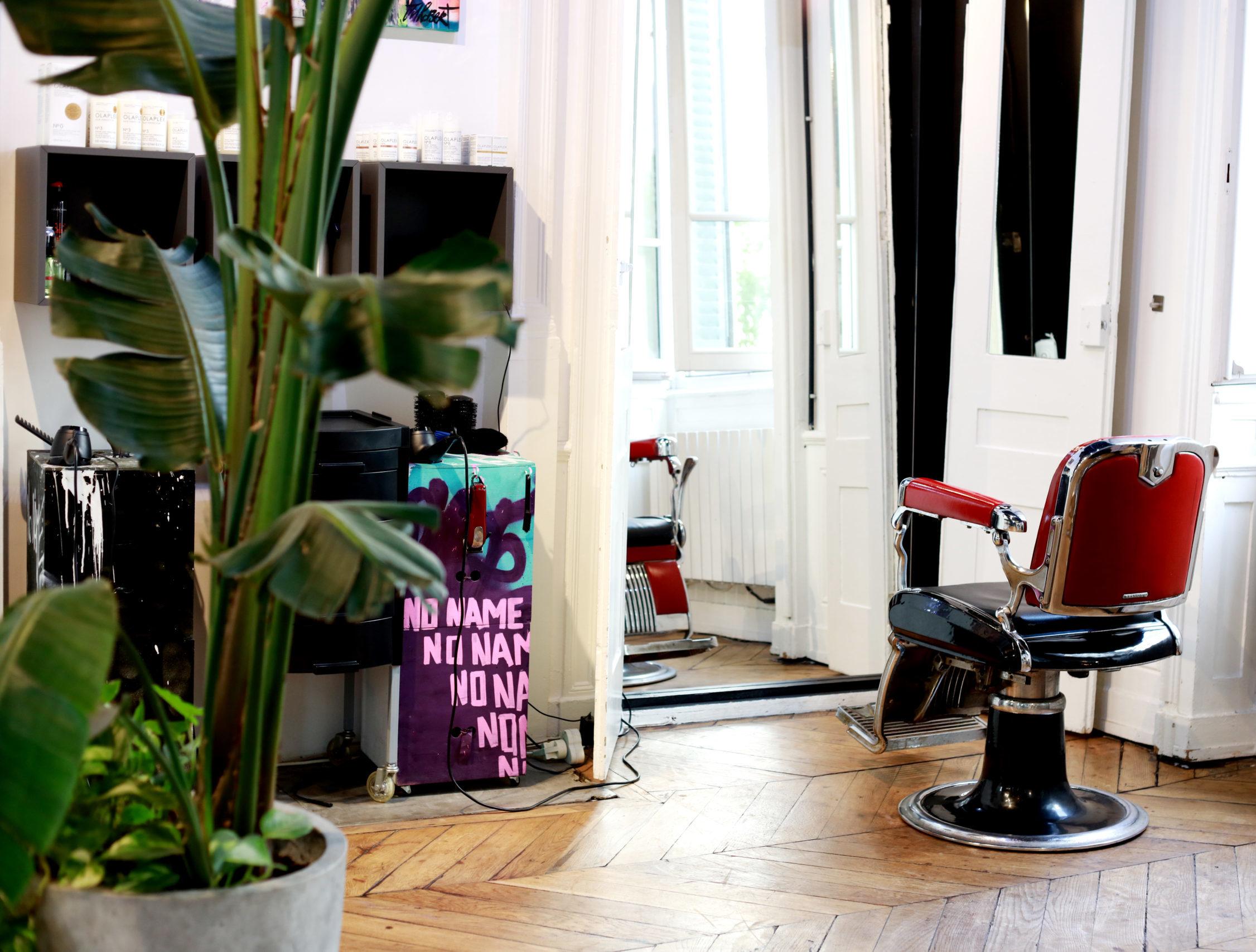 salon no name coiffure pour homme